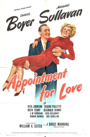 Appointment for Love - Movie Poster (thumbnail)