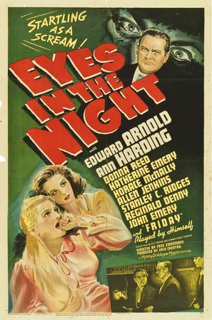 Eyes in the Night - Movie Poster (thumbnail)
