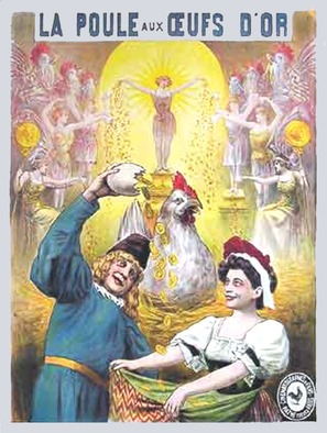 La poule aux oeufs d'or - French Movie Poster (thumbnail)