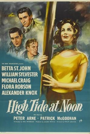High Tide at Noon - British Movie Poster (thumbnail)