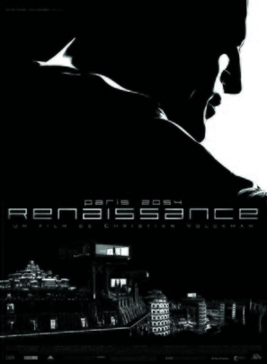 Renaissance - French Movie Poster (thumbnail)