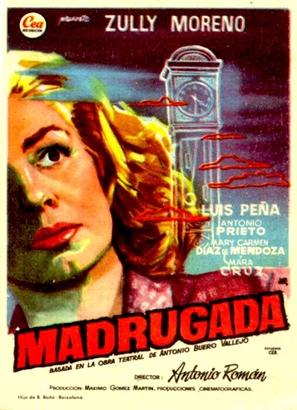 Madrugada - Spanish Movie Poster (thumbnail)