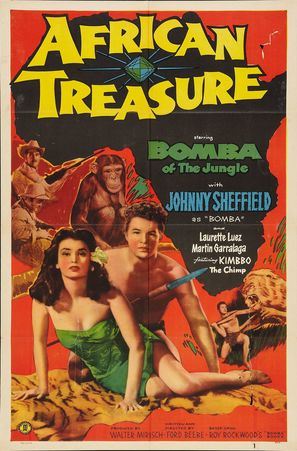 African Treasure - Movie Poster (thumbnail)