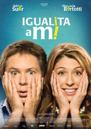 Igualita a mi - Argentinian Movie Poster (thumbnail)
