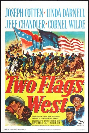 Two Flags West - Movie Poster (thumbnail)