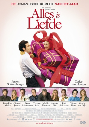 Alles is liefde - Dutch poster (thumbnail)