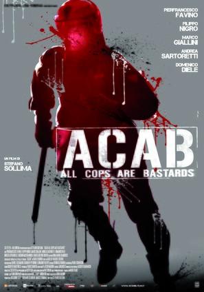A.C.A.B. - Italian Movie Poster (thumbnail)