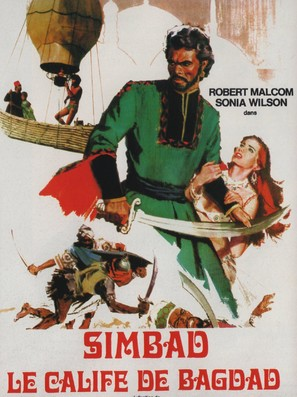 Simbad e il califfo di Bagdad - French Movie Poster (thumbnail)