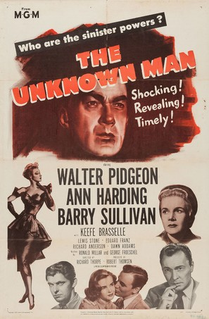 The Unknown Man - Movie Poster (thumbnail)