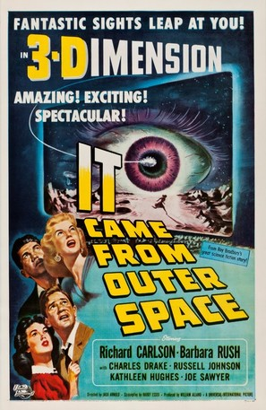 It Came from Outer Space - Theatrical movie poster (thumbnail)