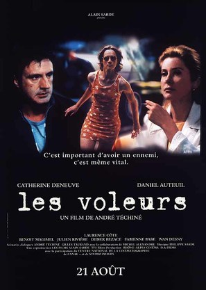 Les voleurs - French Movie Poster (thumbnail)