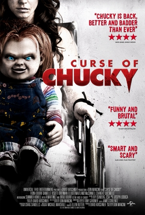 Curse of Chucky - Video release movie poster (thumbnail)