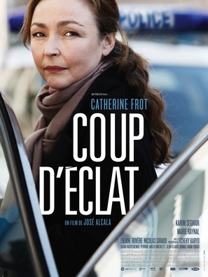 Coup d'éclat - French Movie Poster (thumbnail)