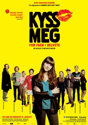 Kyss meg for faen i helvete - Norwegian Movie Poster (thumbnail)