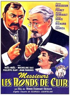 Messieurs les ronds de cuir - French Movie Poster (thumbnail)