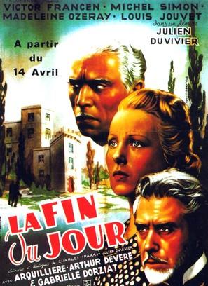La fin du jour - Belgian Movie Poster (thumbnail)