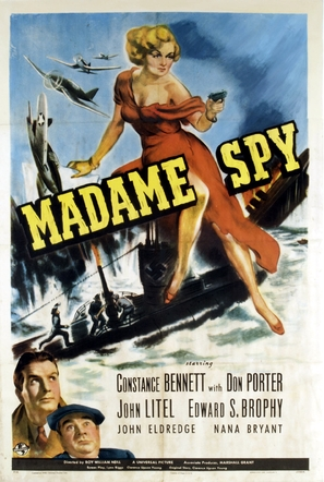 Madame Spy - Movie Poster (thumbnail)