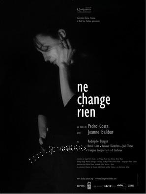 Ne change rien - French Movie Poster (thumbnail)