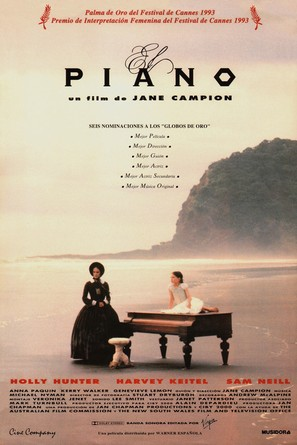 The Piano - Spanish Movie Poster (thumbnail)