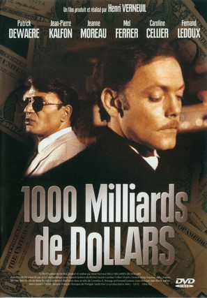 Mille milliards de dollars - French DVD cover (thumbnail)