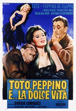 Totò, Peppino e la dolce vita - Italian Theatrical poster (thumbnail)