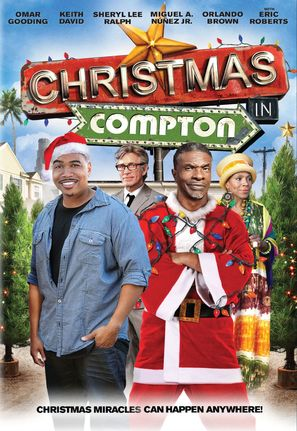 Christmas in Compton - DVD movie cover (thumbnail)