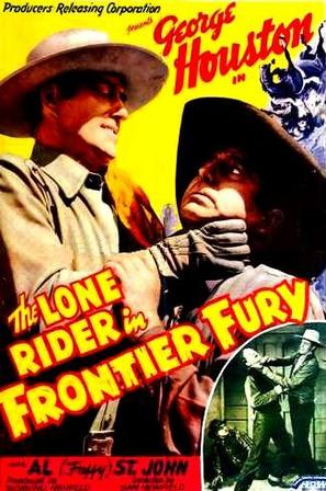The Lone Rider in Frontier Fury - Movie Poster (thumbnail)