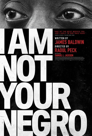 I Am Not Your Negro - Movie Poster (thumbnail)
