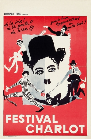 The Charlie Chaplin Festival - Belgian Movie Poster (thumbnail)