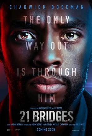 21 Bridges - Movie Poster (thumbnail)