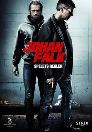 Johan Falk: Spelets regler - Swedish Movie Poster (thumbnail)