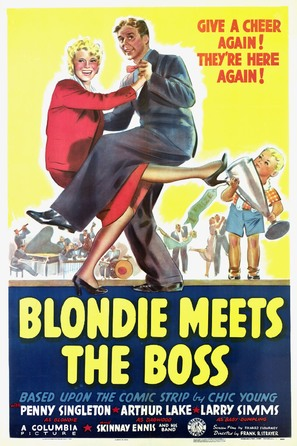 Blondie Meets the Boss - Movie Poster (thumbnail)