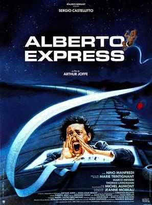 Alberto Express - French Movie Poster (thumbnail)