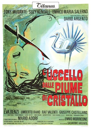 L'uccello dalle piume di cristallo - Italian Movie Poster (thumbnail)
