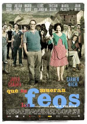 Que se mueran los feos - Spanish Movie Poster (thumbnail)