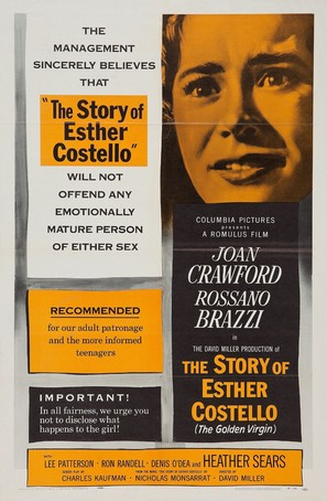 The Story of Esther Costello - Movie Poster (thumbnail)
