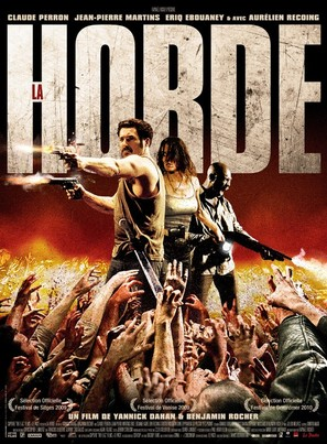 La horde - French Movie Poster (thumbnail)