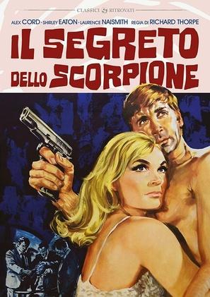 The Scorpio Letters - Italian DVD movie cover (thumbnail)