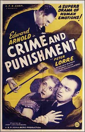 Crime and Punishment - Movie Poster (thumbnail)