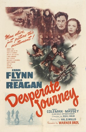 Desperate Journey - Movie Poster (thumbnail)