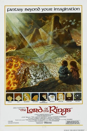 The Lord Of The Rings - Movie Poster (thumbnail)