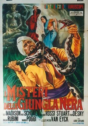 I misteri della giungla nera - Italian Movie Poster (thumbnail)