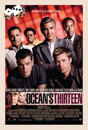 Ocean's Thirteen - British Movie Poster (thumbnail)