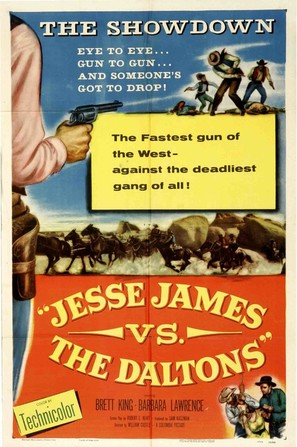 Jesse James vs. the Daltons - Movie Poster (thumbnail)
