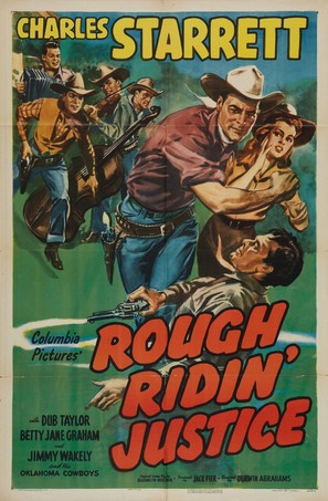 Rough Ridin' Justice - Movie Poster (thumbnail)