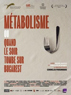 Când se lasa seara peste Bucuresti sau metabolism - French Movie Poster (thumbnail)