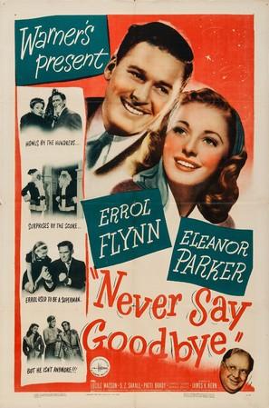 Never Say Goodbye - Movie Poster (thumbnail)