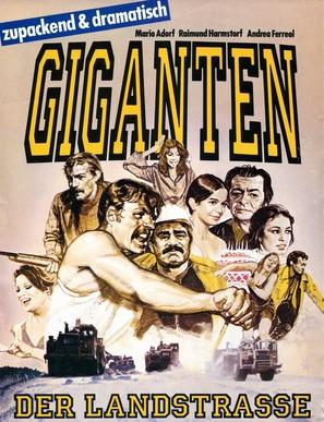 L'empreinte des géants - German Movie Cover (thumbnail)