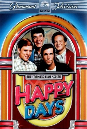 """""""Happy Days"""" - DVD movie cover (thumbnail)"""