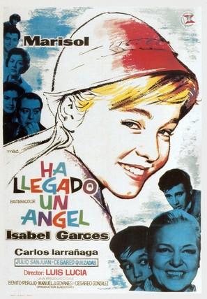 Ha llegado un ángel - Spanish Movie Poster (thumbnail)